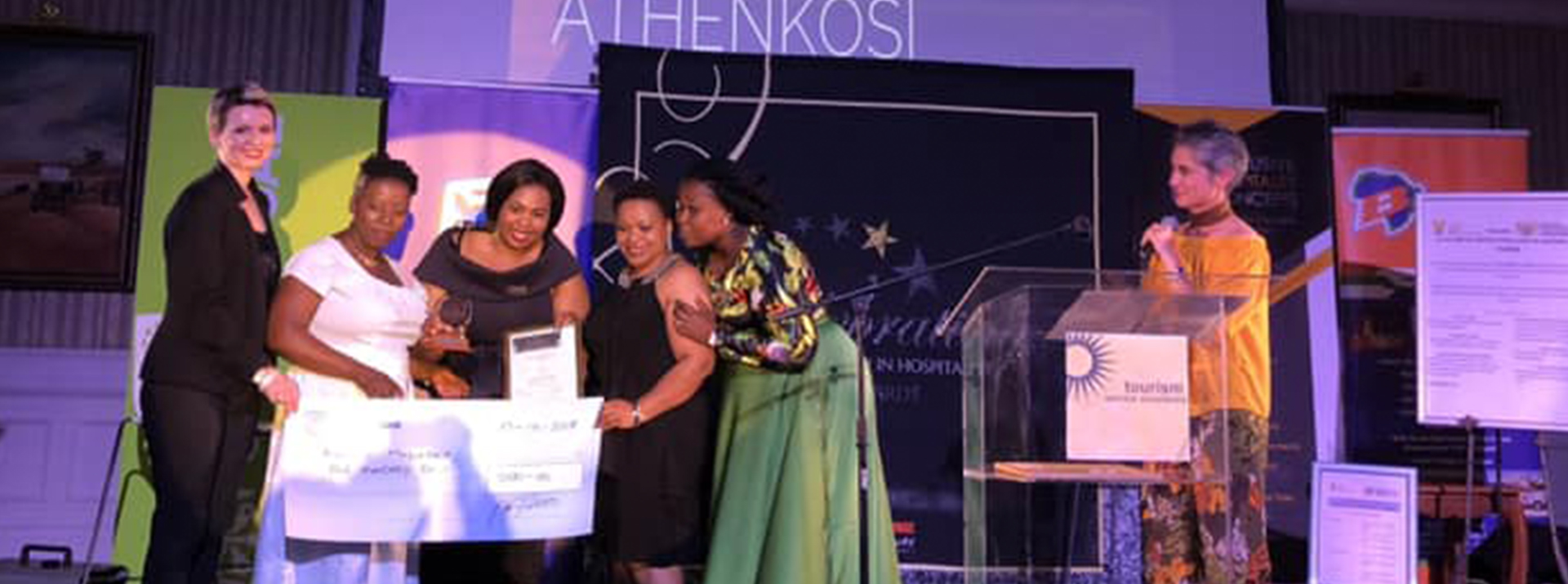 Athenkosi wins F&B service award at Exclusive Hospitality Concepts