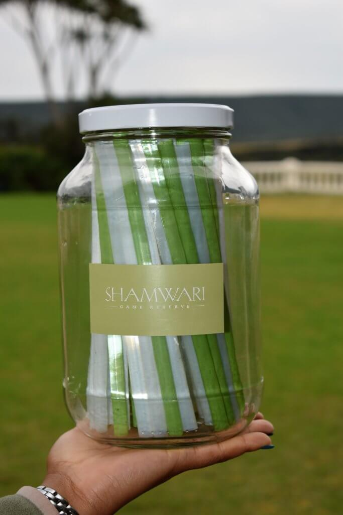 Shamwari Introduces Biodegradable Straws
