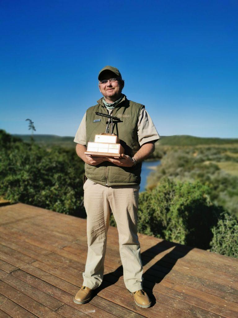 Jonathan van Zyl for the Advanced Rifle Handling Award