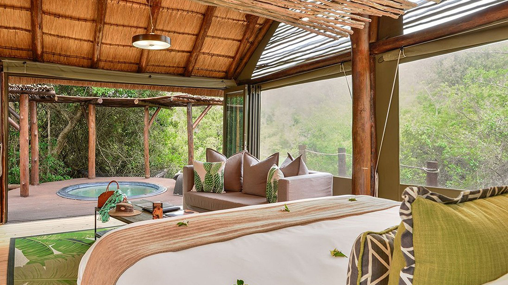 luxury tented camp