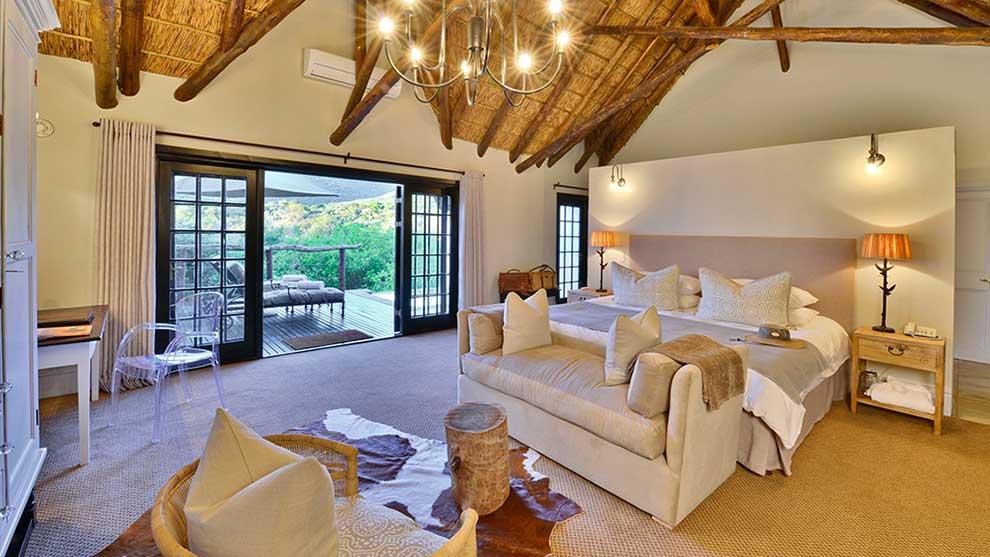 South African lodge junior suite at Lobengula lodge